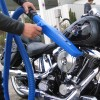 AUTO DETAILING DRYING MOTOR BIKE